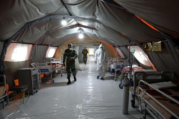Iranska improvizovana bolnica