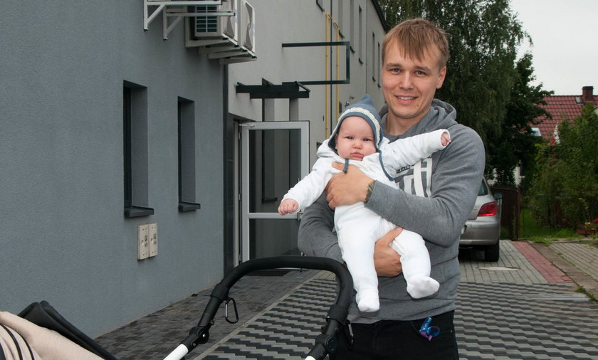 Nicolas Zieliński z Osielska liczy na dodatkowy urlop dla ojców
