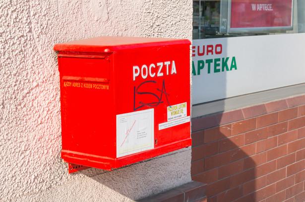 poczta polska -skrzynka pocztowa