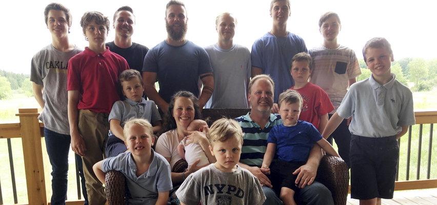 Para ma 14 synów. Po blisko trzydziestu latach doczekała się córki