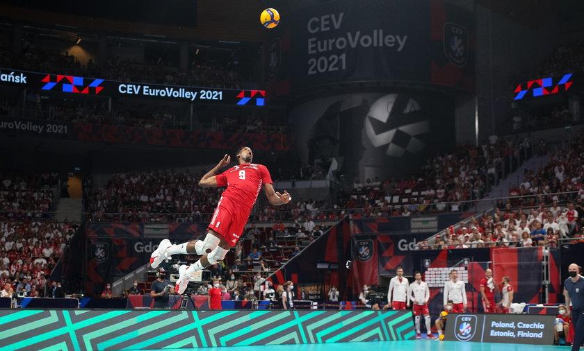 Siatkowka. Mistrzostwa Europy. Polska - Finlandia. 11.09.2021