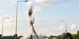 Wielki wybuch w Łodzi. Zobacz reakcje świadków