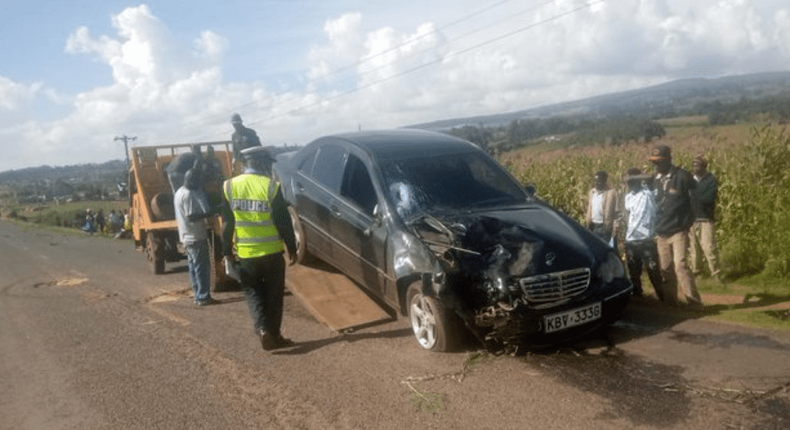 Vocal Kuresoi North MP and National Assembly Deputy Speaker Moses Cheboi involved in accident