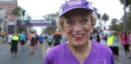 Pokonała raka i została najstarszą uczestniczką maratonu na świecie!