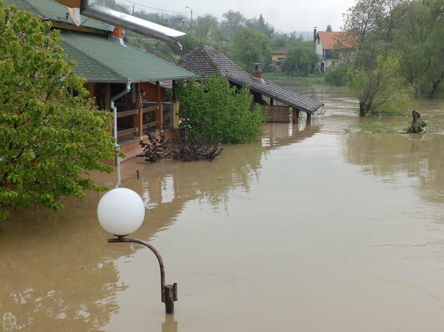 Poplavljena vikend naselja kod Kraljeva