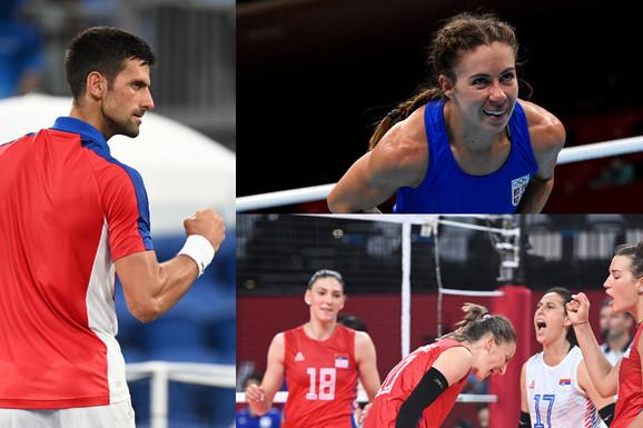 (UŽIVO) SRBIJA U TOKIJU, 7. DAN Odbojkašice deklasirale rivalke, Zorana vodi, naša bokserka na korak od medalje, veslači peti, a tu su i Nole, košarkašice, vaterpolisti...