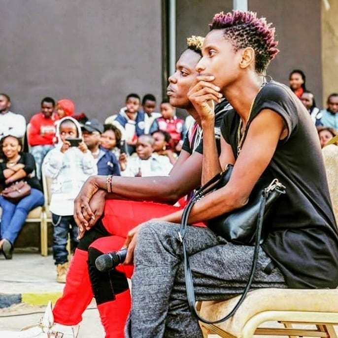 Eric Omondi and his brother Fred Omondi. Why Eric Omondi has been forced to apologize
