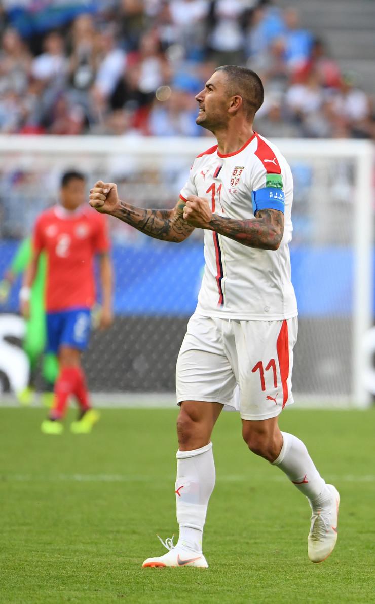 Fudbalska reprezentacija Srbije, Fudbalska reprezentacija Kostarike