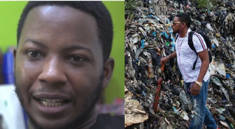 Meet Covid-19 survivor who's making it big by turning waste into face shields and masks (video)