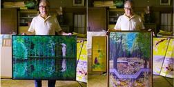 """77-letni artysta, który """"maluje"""" japońskie krajobrazy w Excelu"""