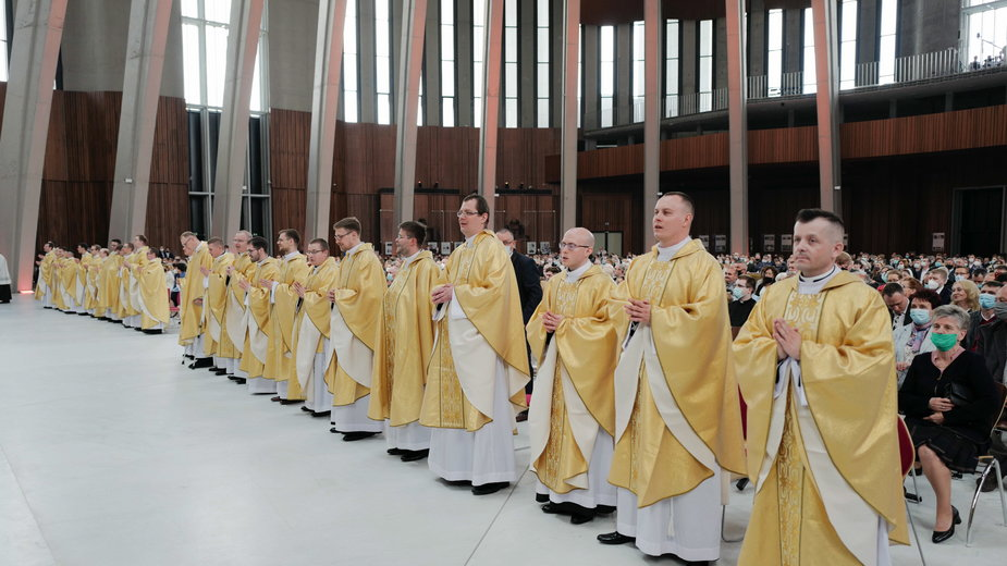 Święcenia kapłańskie w Archidiecezji Warszawskiej
