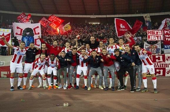 Fudbaleri Crvene zvezde