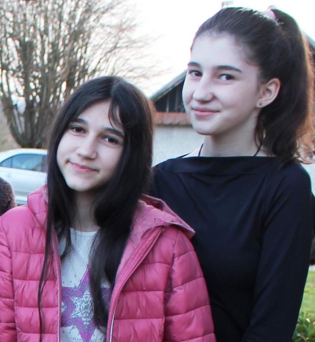 Biljana sa sestrom Dajanom