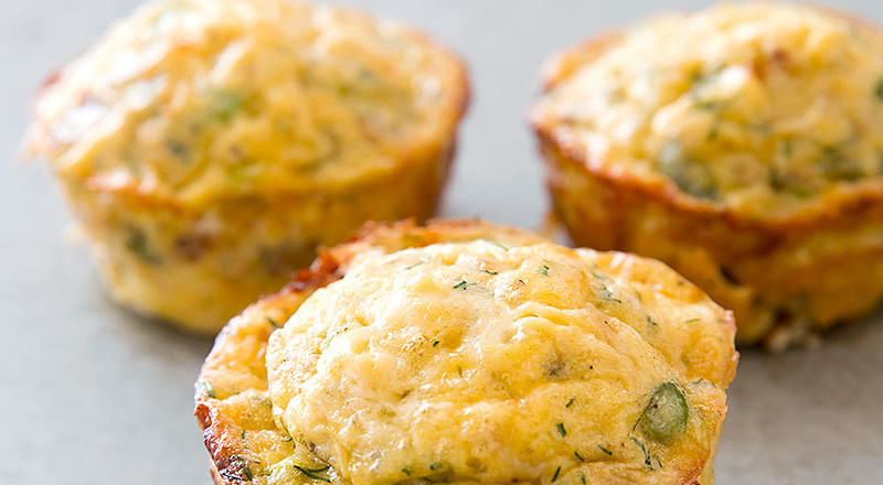 DIY Recipes: How to make Egg frittata muffins