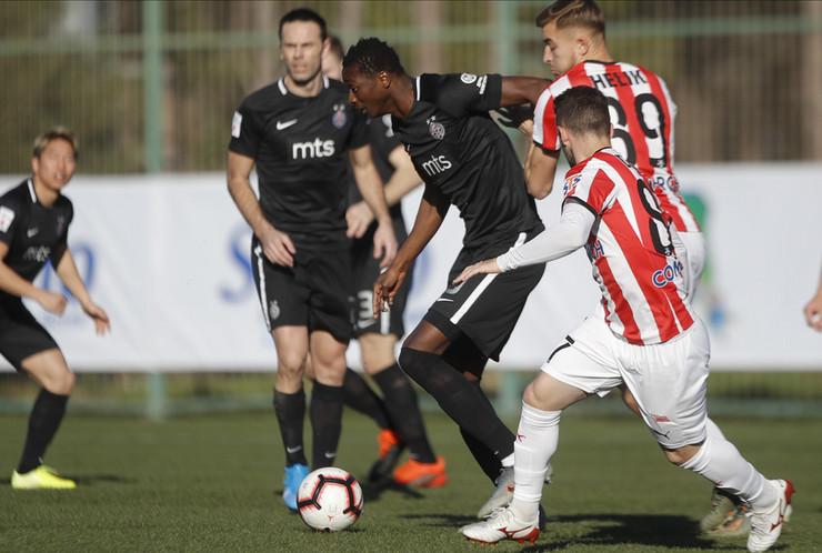 FK Partizan - FK Krakovija