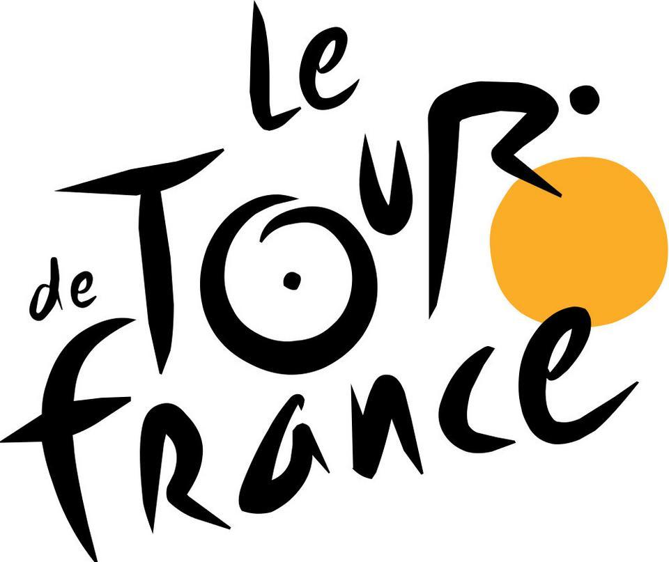 Słońce w logo Tour de France to również rowerowe koło.