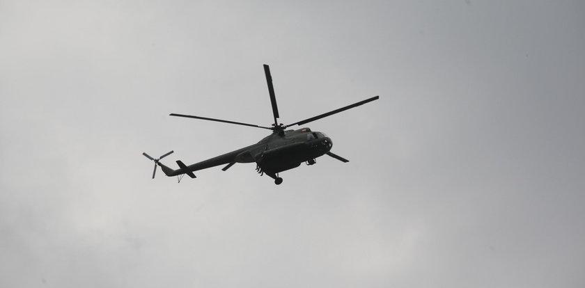 Helikopter rozbił się w pobliżu nacjonalistycznej manifestacji. Dwie osoby zginęły