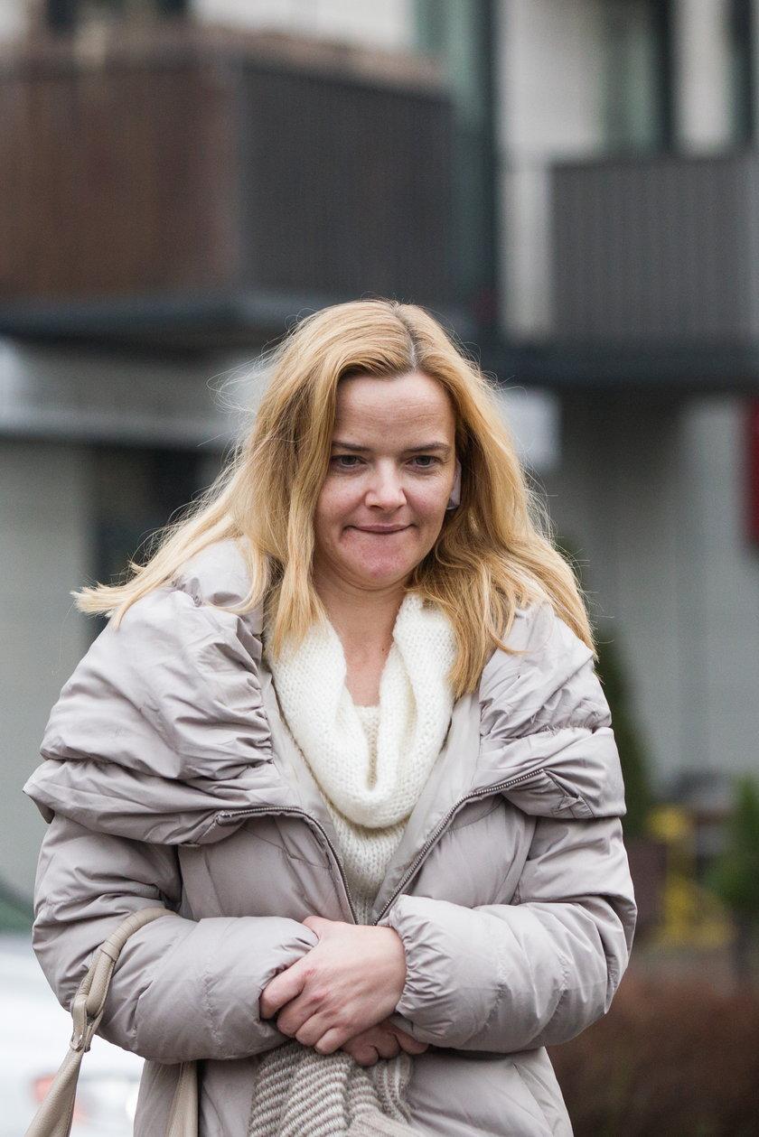 Monika Zamachowska bez makijażu