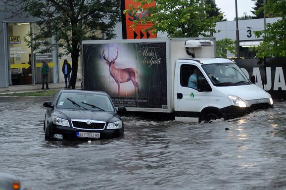 Ovako je bilo nedavno u Beogradu