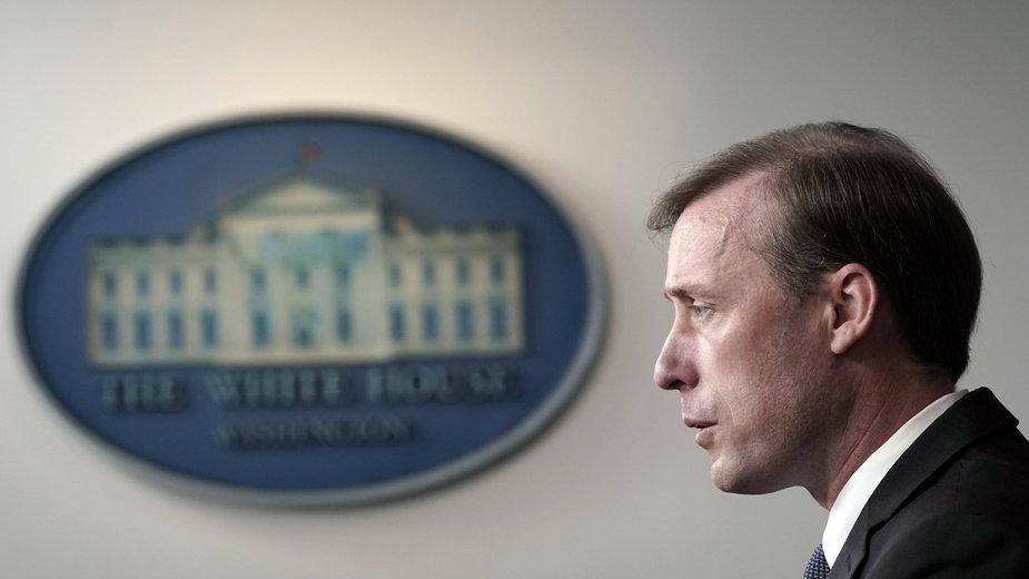 Doradca prezydenta USA ds. bezpieczeństwa narodowego Jake Sullivan