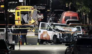 USA : 'Tchórzliwy akt terroru' w Nowym Jorku