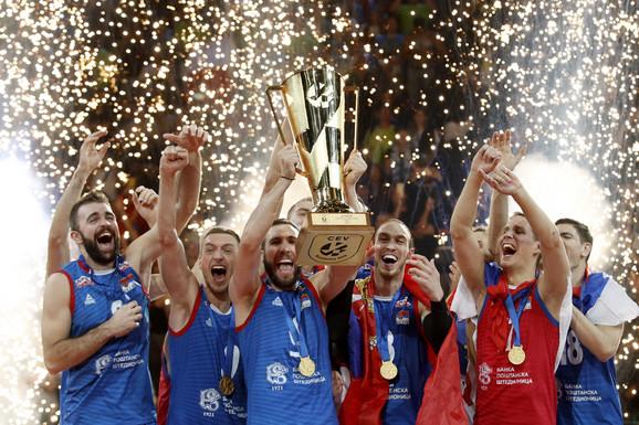 Odbojkaši Srbije jesu na krovu Evrope, ali ih sada čekaju naporne kvalifikacije za Olimpijske igre u Japanu 2020.