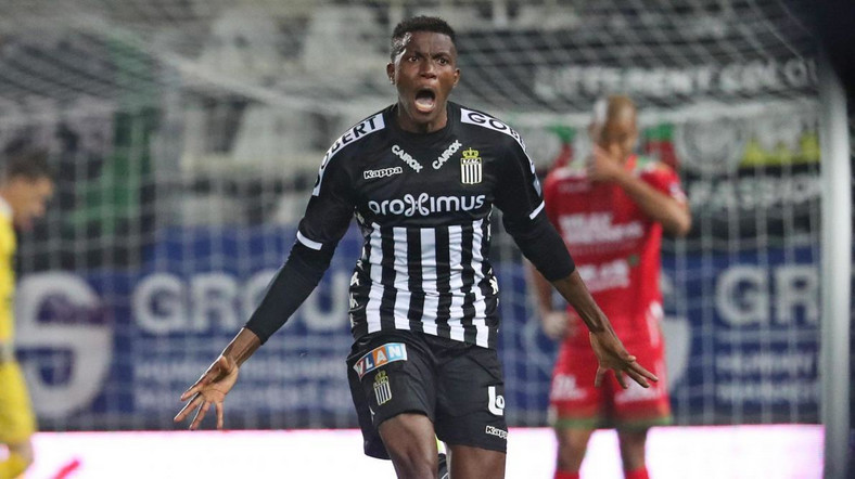 Victor Osimhen has been impressive since joining Royal Charleroi Sporting Club [Twitter Africa Sport]