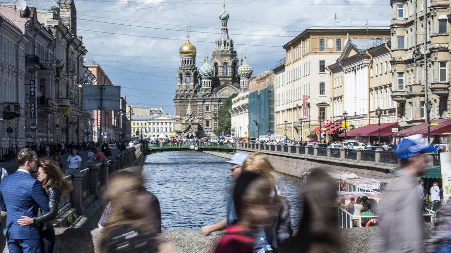 Cerkiew na Krwi w Sankt Petersburgu