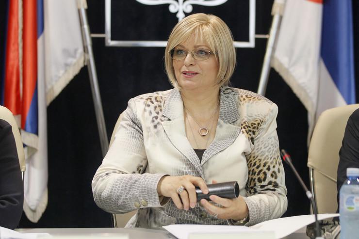 Jorgovanka Tabaković, stajling