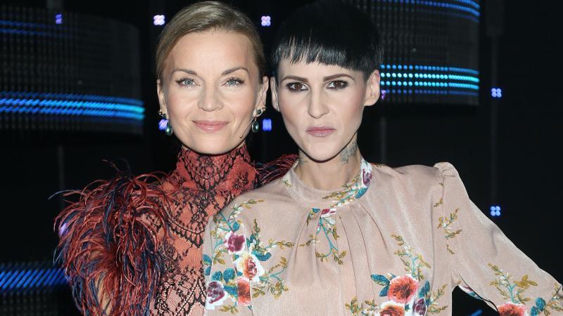 Małgorzata Foremniak i Agnieszka Chylińska