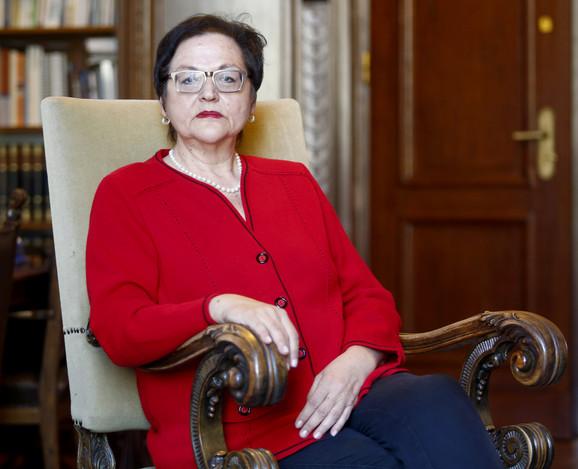 Gordana Čomić je provela skoro tri decenije u Demokratskoj stranci