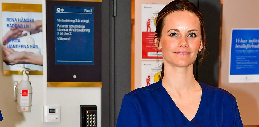 Szwedzka księżniczka rzuciła królewskie życie i zaczęła pracę w szpitalu. Walczy z koronawirusem