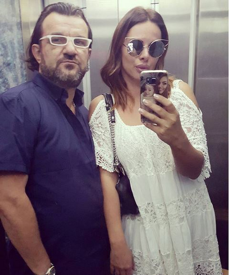 Sonja Vuksanović i Aca Lukas