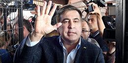 Saakaszwili skazany za przekroczenie granicy