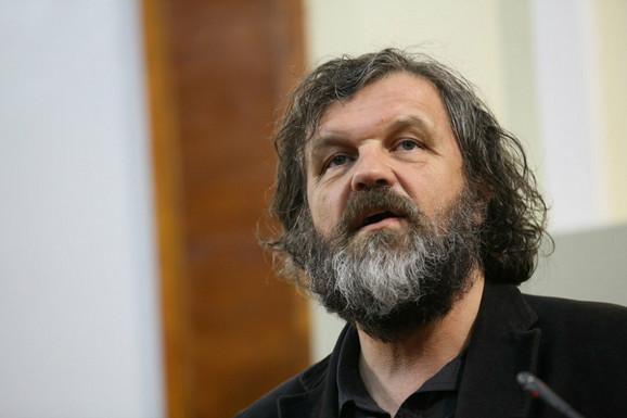 Emir Kusturica na promociji svoje nove knjige