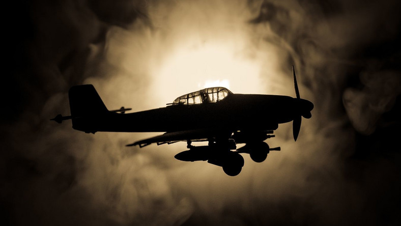 niemiecki samolot bombowiec