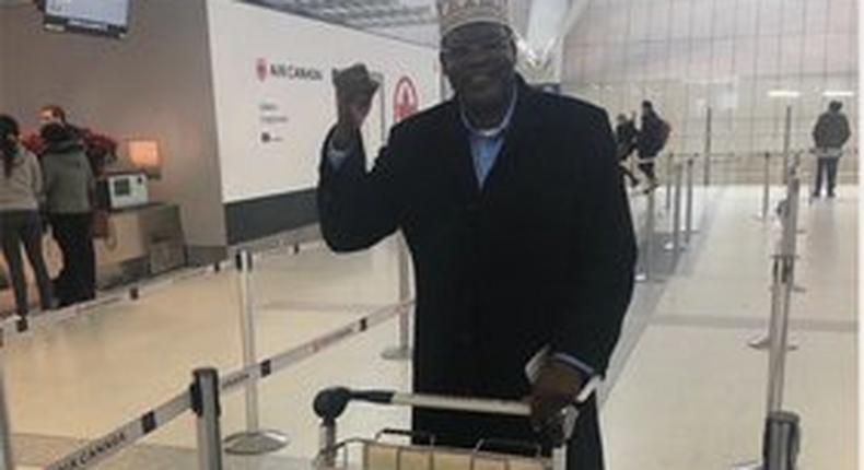 Fiery activist Miguna Miguna fires up his supporters as he begins his journey to Kenya