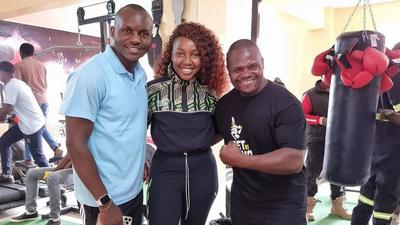 Ugali Man officially unveils his Modern Gym in Rongai (Photos)