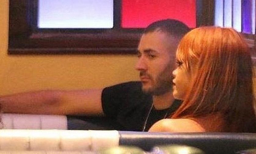 Karim Benzema imprezuje z Rihanną! Są parą?