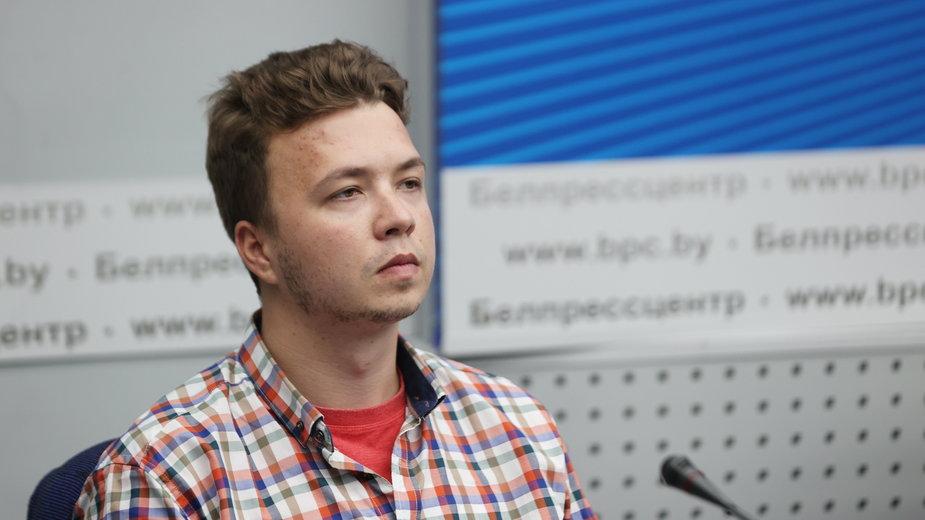 Roman Protasiewicz na konferencji prasowej