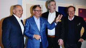 Gwiazdy biznesu, kultury i mediów na otwarciu wystawy
