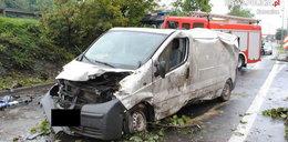 Kamery nagrały śmierć na drodze - wideo