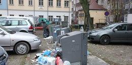 Centrum Gdańska tonie w śmieciach