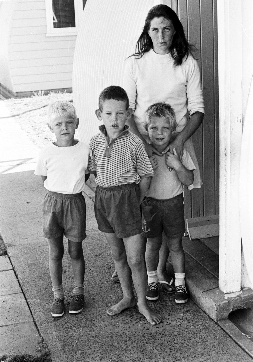 Mama Cheryl z synami