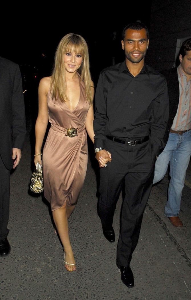 Šeril sa bivšim suprugom Ešlijem