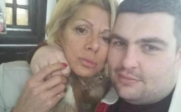 Ceca Kitić sa svojim verenikom