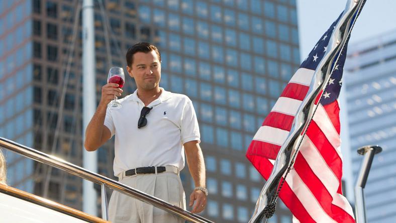 """""""Wilk z Wall Street"""" - kadr z filmu"""