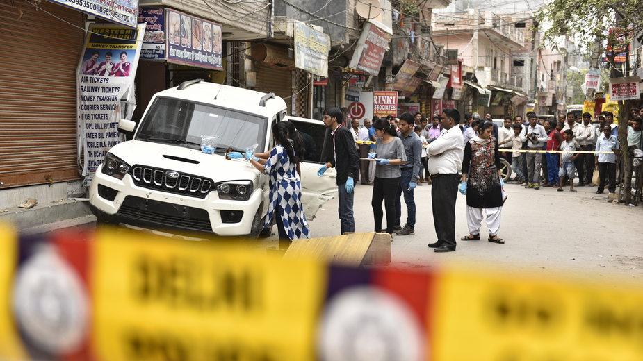 Jedna z krwawych strzelanin w czasie wojny gangów w New Delhi