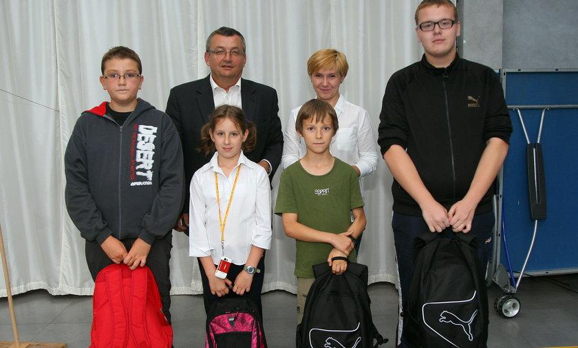 Wyprawka od posła Andrzeja Adamczyka.