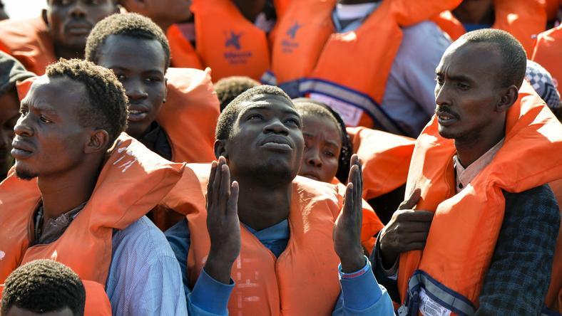 Migranci z Afryki uratowani przez straż przybrzeżną Malty